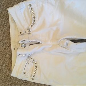 L.A. idol Jeans - LA idol white jeans, spectacular condition